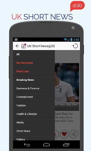 UK Short News at 30