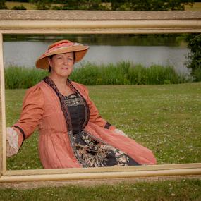 Frames by John Walton - People Portraits of Women ( framed )