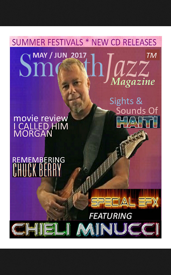 Smooth Jazz Magazine- screenshot