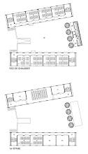 Photo: Plans de distribution des bâtiments pédagogiques.