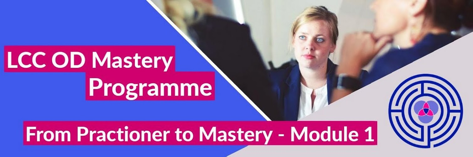 OD Practitioner to Mastery -  Module 1 Oct 2019