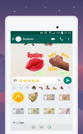 Azerbaijan Stickers for WhatsApp - WAStickerApps 12.2.06 screenshots 20