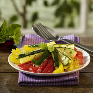 Sautéed Peppers and Zucchini.