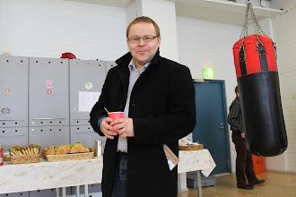 Photo: Pekka Mäki on aina paikalla