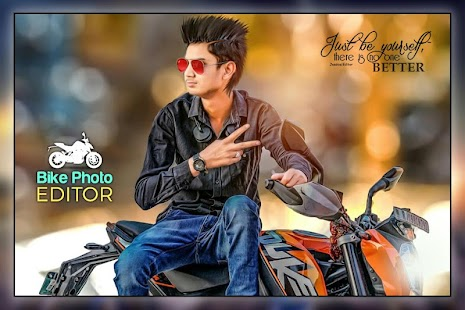 Bike Photo Editor - náhled