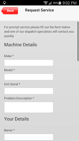 android Total Service Solutions Screenshot 1