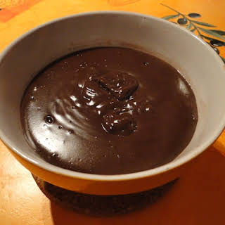 Basic Low-sugar Chocolate Pudding.