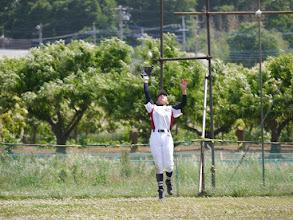 Photo: こっ、これは姫〇先輩を思い出す、捕球スタイル!