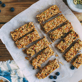 Granola Bars with Sweet Potato Caramel and Cardamom