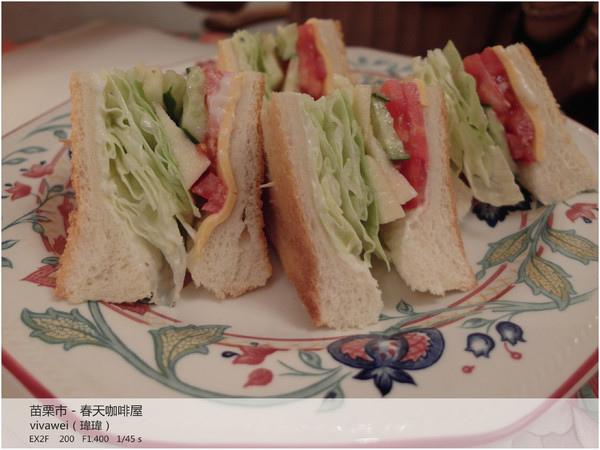 鬧中取靜的簡餐及下午茶餐廳『春天咖啡屋』