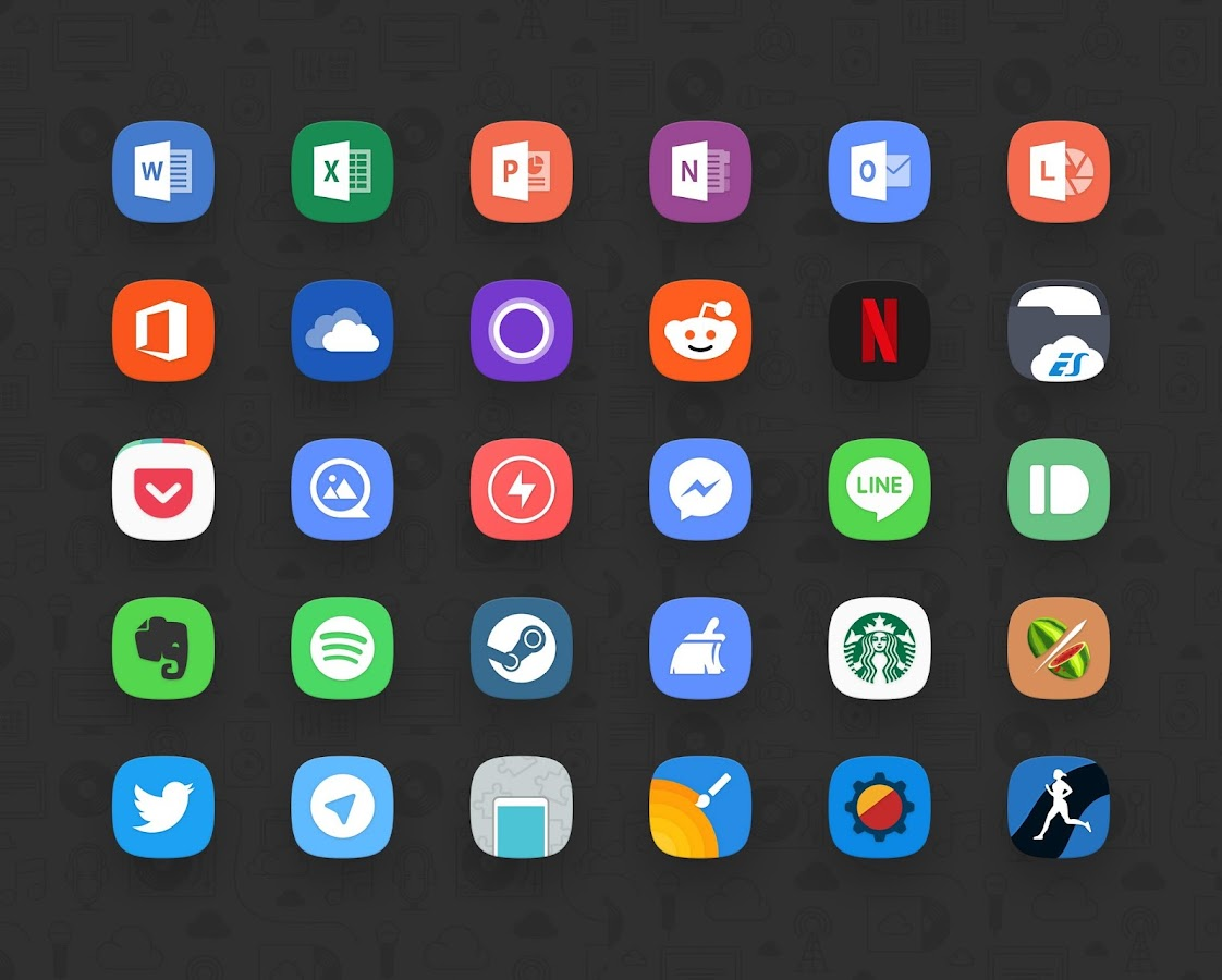 Delux UX - S8 Icon Pack- screenshot