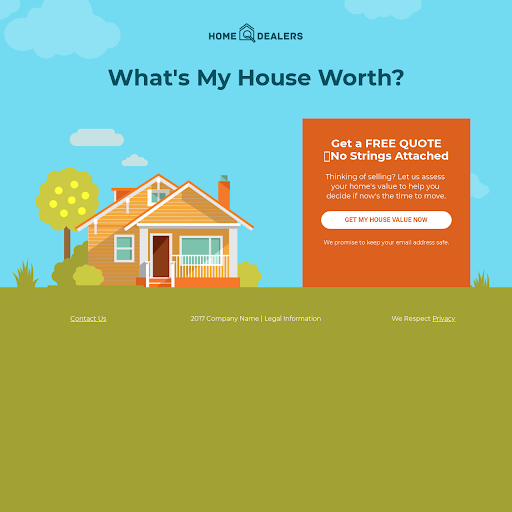 Landing Page Templates By Leadpages - Template for selling home