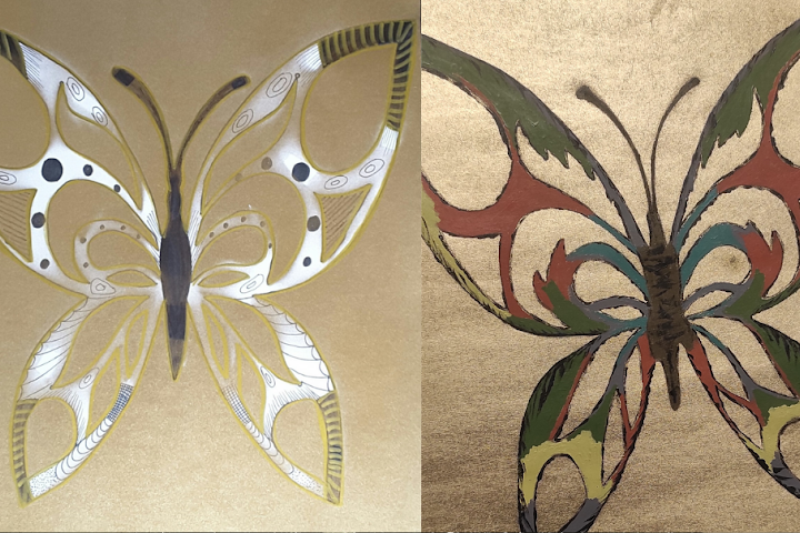 dekoravimas-purskiamais-dazais-drugeliai