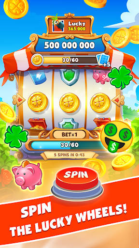 Spin Voyage: attack, build and get coins! screenshots 2