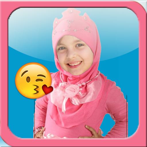Hijab Kids Suit Camera