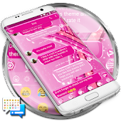 SMS Messages Sparkling Pink