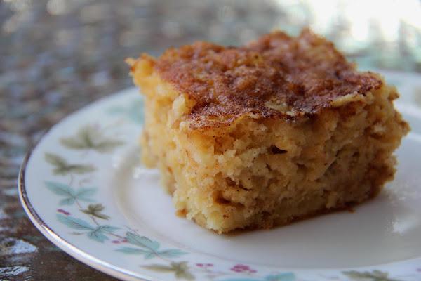 Apple-yogurt Cake W/cinnamon Swirls Recipe