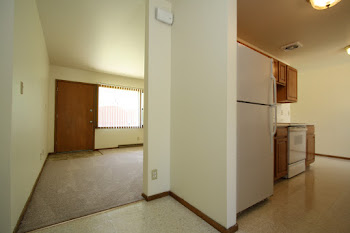 Go to Three Bed, One Bath Duplex with Basement Floorplan page.