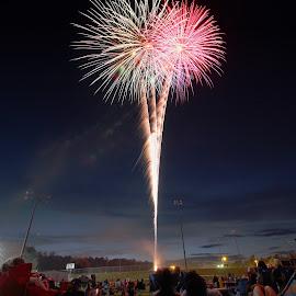 Fireworks by Avishek Bhattacharya - Public Holidays July 4th