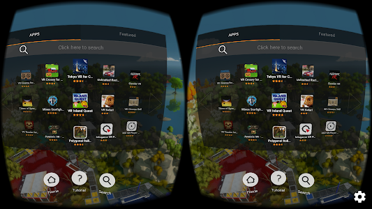 FD VR - Virtual App Launcher screenshot 0