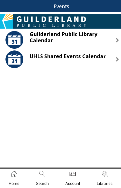 UHLS Mobile- screenshot