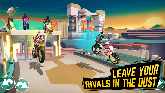 Gravity Rider: Space Bike Racing Game Online for PC-Windows 7,8,10 and Mac apk screenshot 2