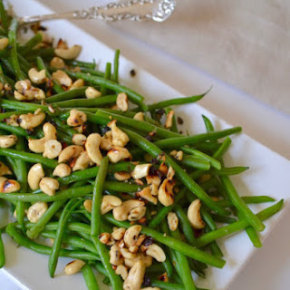Haricots Verts with Cashews