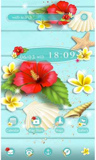 Tropical Hibiscus-Wallpaper 1.0.0 Windows u7528 1
