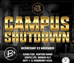CAMPUS SHUTDOWN - Wed 22 Nov : The Blue Room Hatfield