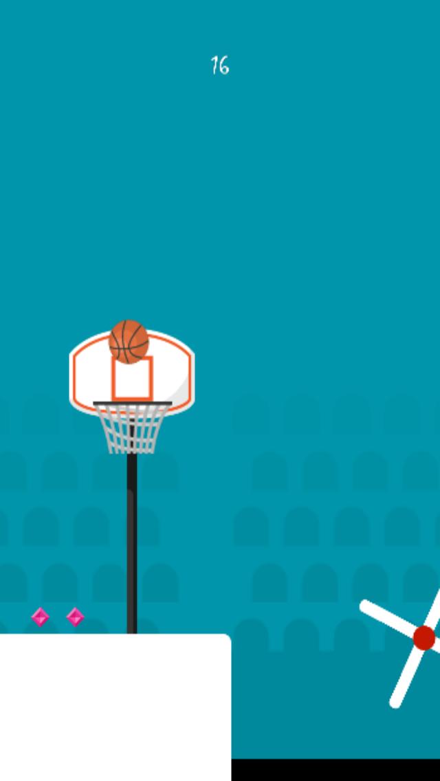 Скриншот Hoop Dunk