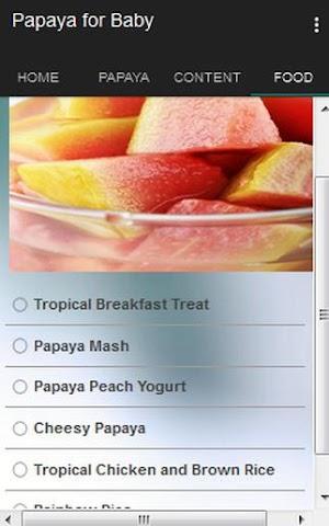 android Papaya for Baby Screenshot 4