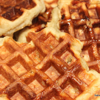 Sourdough Liege Waffles.