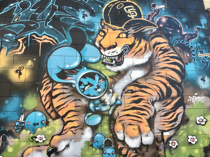 Tiger on 15th St.