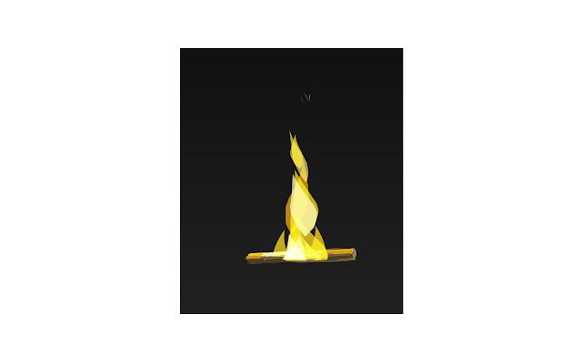 Flame animation