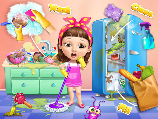 Sweet Baby Girl Cleanup 5 - Messy House Makeover 6.0.28 screenshots 4