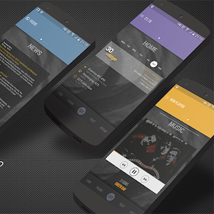 FlexyBlack for KLWP apk