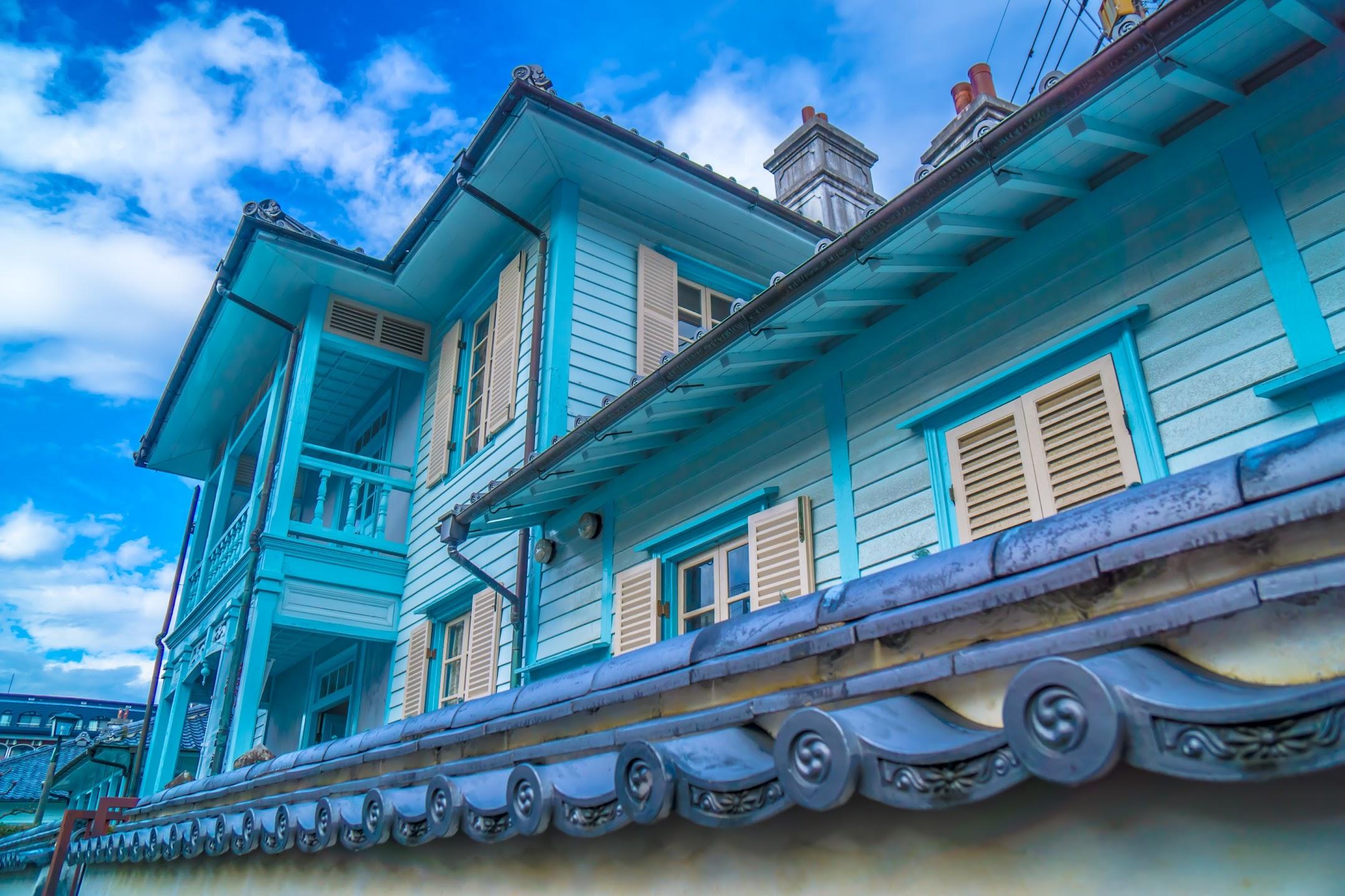 Nagasaki Dutch Slope Higashi-Yamate Western residences1