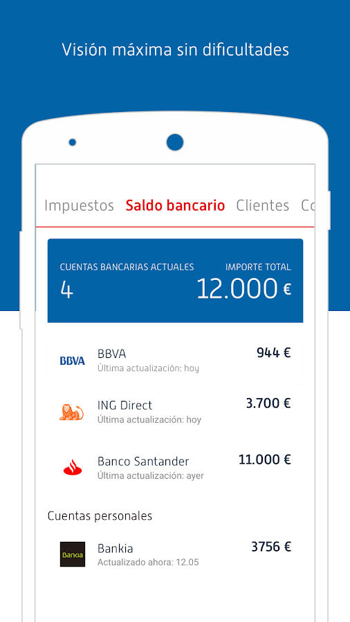 Exact Go - contabilidad facil (Unreleased): captura de pantalla
