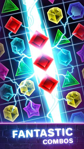 Jewels Quest 2 - Glowing Match 3 1.0.0 screenshots 6