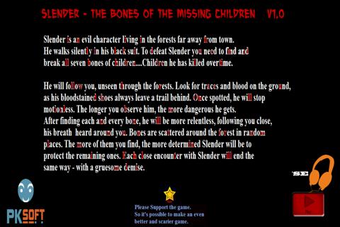 Slender- Bones of the Children