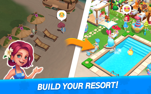 My Little Paradise : Resort Management Game android2mod screenshots 9