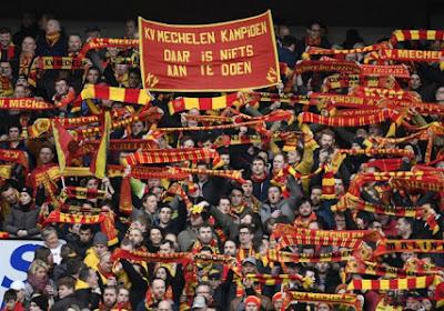 ? Fans van KV Mechelen komen met scherp spandoek als reactie op banners Beerschot-Wilrijk vorige week