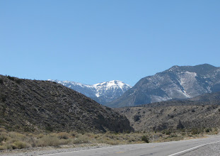 Photo: Tip of Mt. Charleston from halfway point