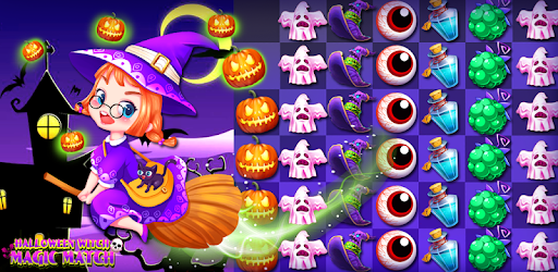 Halloween Witch Magic Match for PC