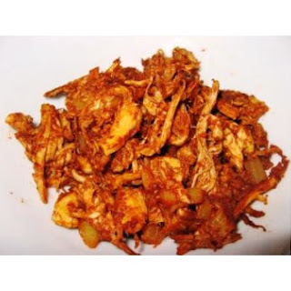 Mixed-Spicy-Shredded Chicken (Ayam Suwir Bumbu Rujak)