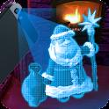 Holograma de Papai Noel icon