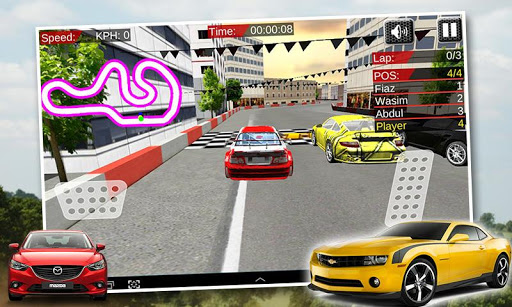 Extreme Fast City Car Race 3D