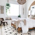 White Bedroom Decor icon