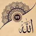 99 Names of Allah with Meaning and Audio icon