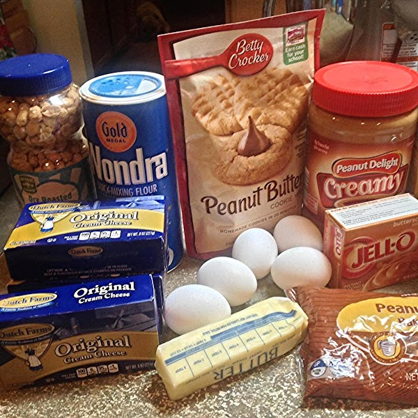 Preheat oven to 350 degrees F.This is most of the main ingredients used in...